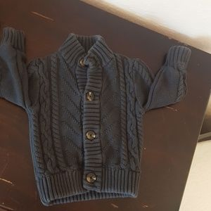 Boys charcoal gray sweater